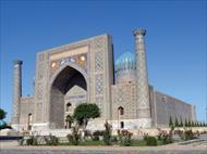 پاورپوینت معماری مسجد بی بی خانم سمرقند