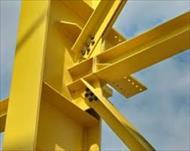 پاورپوینت تشریح مراحل اجرای سازه های اسکلت فلزی